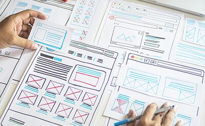 サイト構成・デザインの作成